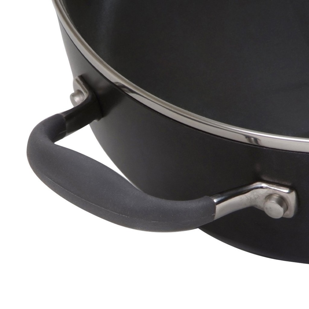 Anolon Advanced hard anodized pan with heat resistant handles