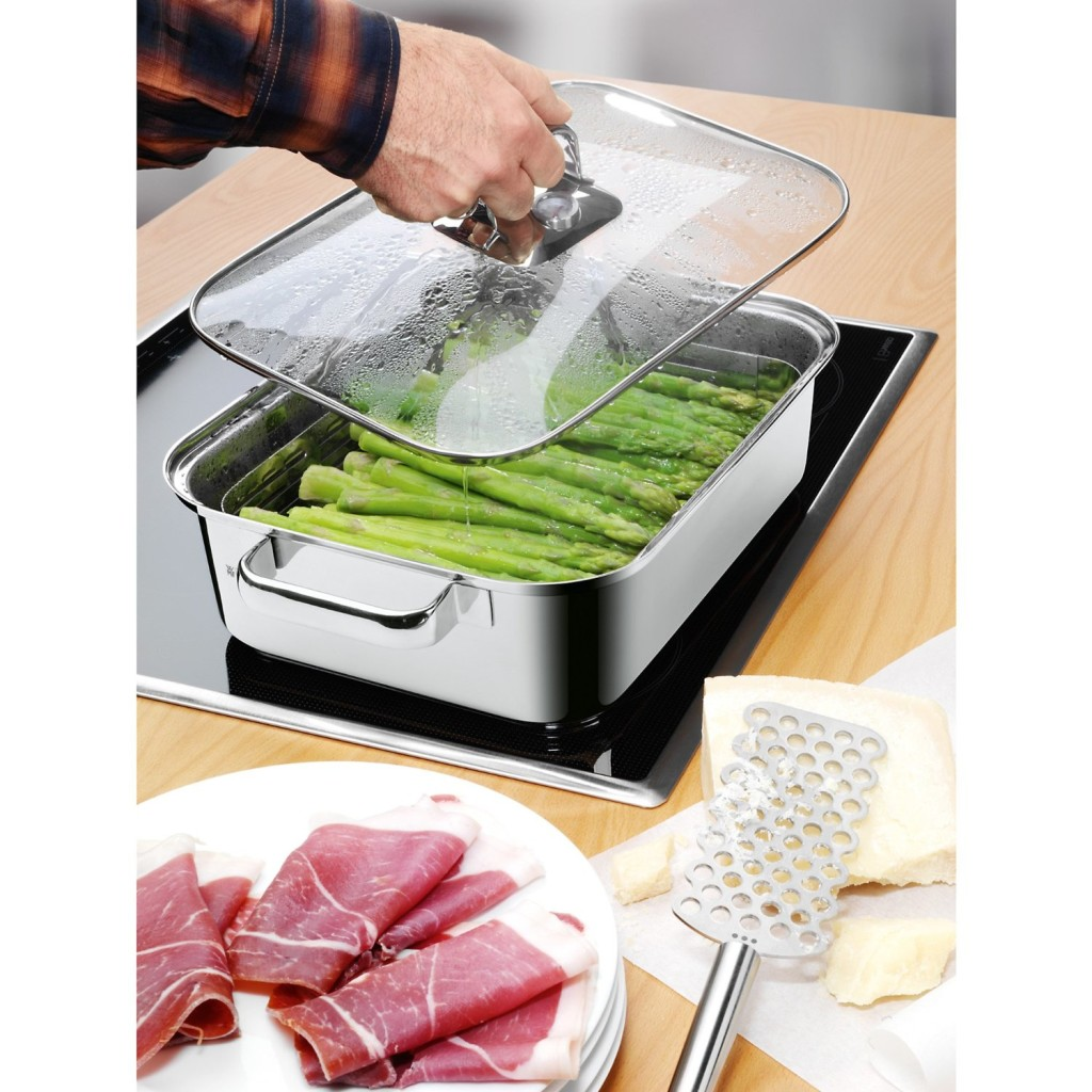 WMF Vitalis large stainless steel steamer featured image