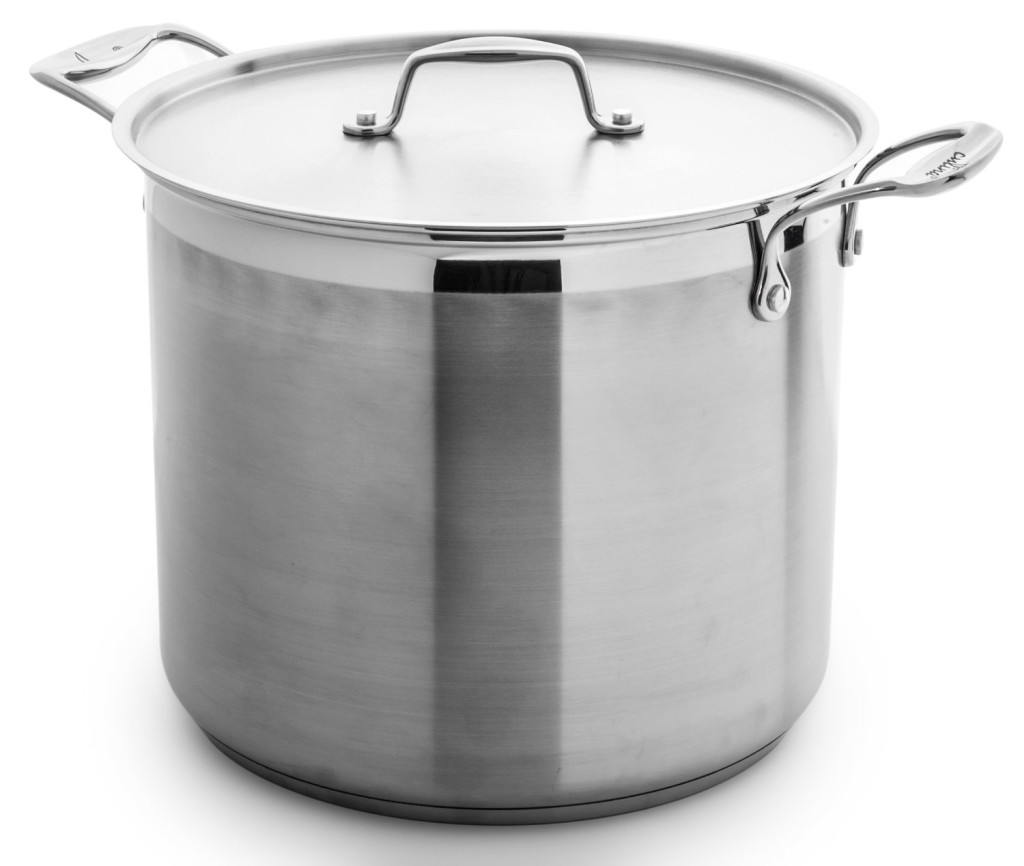 Culina stainless steel 12 quart multi pasta pot cooker