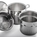 Culina 18/10 Stainless Steel 12 qt Multi Pasta Pot Cooker Steamer