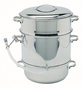 Mehu Liisa 11 Liter Stainless Steel Steam Juicer Extractor