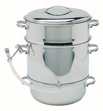 Mehu-Liisa 11 liter stainless steel steamer juicer image