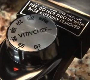 VitaChef electric multi cooker skillet temperature range