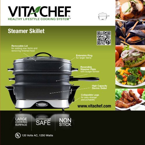 VitaChef electric multi cooker warranty information