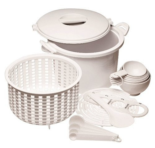 Prepworks from Progressive GMRC-500 microwave 12-cup rice pasta cooker