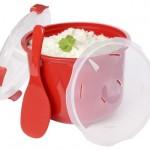 Sistema BPA FREE Microwave 11 cups Rice Steamer Multicooker