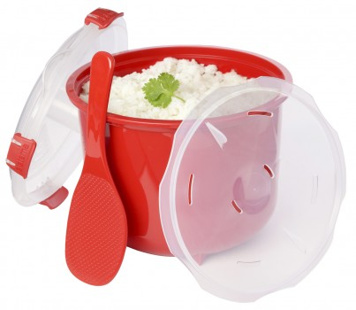 Sistema Rice Microwave BPA FREE 11 cups Steamer Multicooker