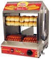 Paragon Hut hot dog steamer for home and commercial use