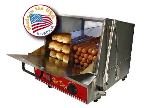 Paragon Hot Dog Steamer Machine for Commercial Home