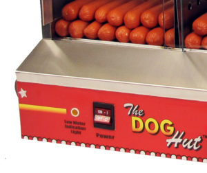 Hot dog steamer is tested and approved as a safe hot dog machine