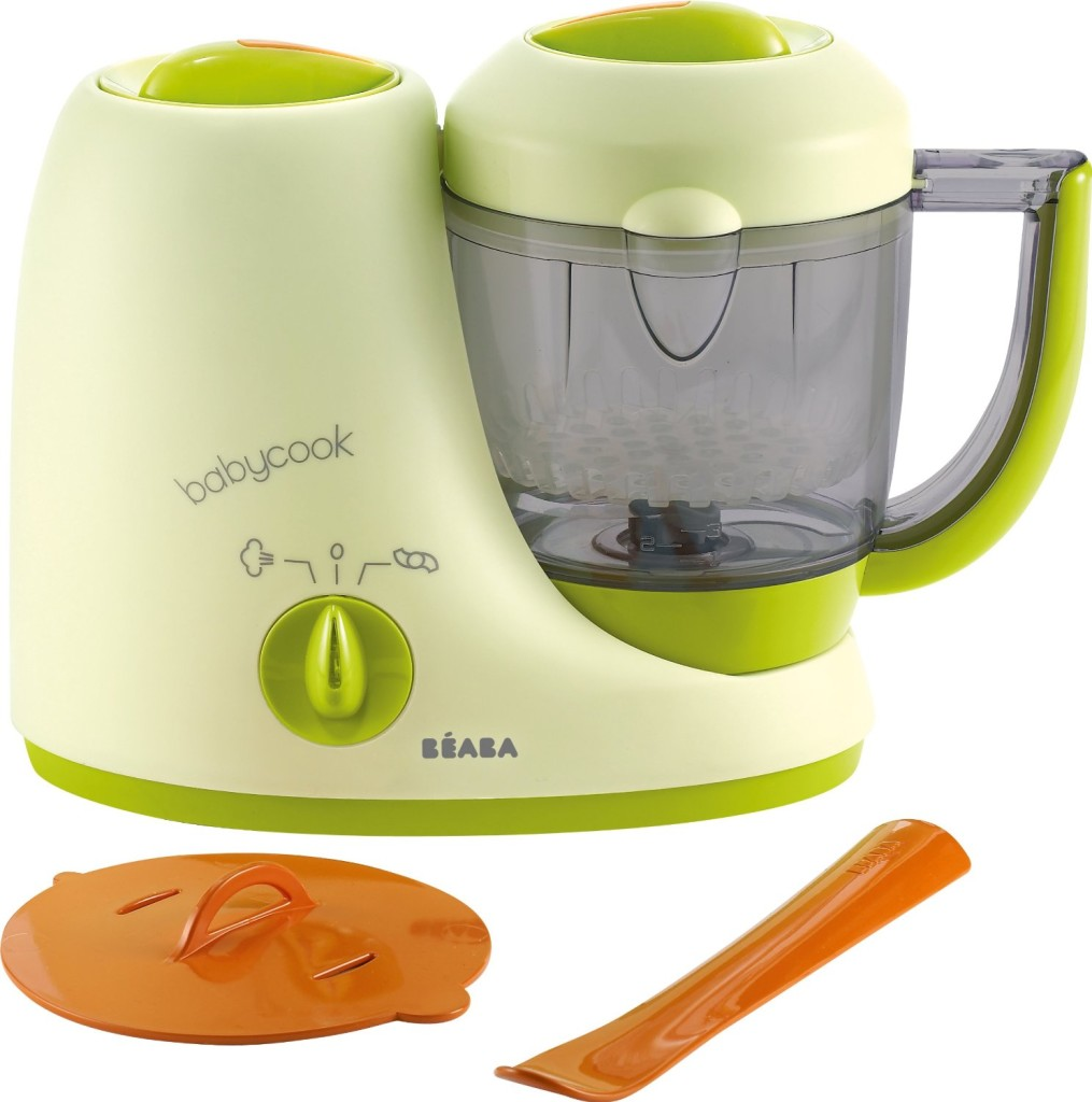 Beaba Babycook Classic Food Maker Steamer Blender prepares any stage of puree food for babies and toddlers