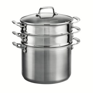 Tramontina stainless steel induction ready 8 quart pasta pot