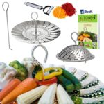 Stainless Steel Vegetable Steamer Basket Expands to Fit Any Pot Size & Instant Pot Pressure Cooker