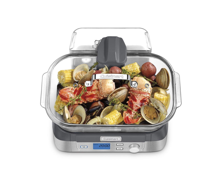 Cuisinart Vegetable Steamer ~ Cuisinart stm cookfresh digital glass food steamer